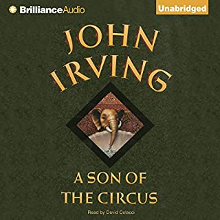 A Son of the Circus audiobook cover art