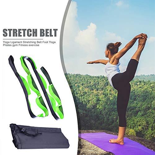 Générique Boucles Yoga Stretch Straps Fitness Nylon Tension Stretching Belt pour Aerial Yoga Hamac Swing Body Building