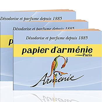 Annee Armenie Burning Papers 3 x 12 sheets by Papier d Armenie