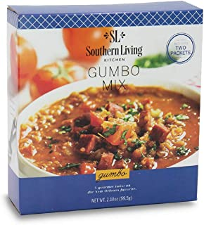 Gourmet Gumbo Soup Mix by Southern Living – New Orleans Style Cajun Gumbo Base – Easy Dinner Mix for Soup or Casserole