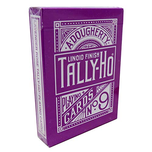 Tally Ho Reverse Fan back (Lavender) Limited Ed. by Aloy Studios / USPCC
