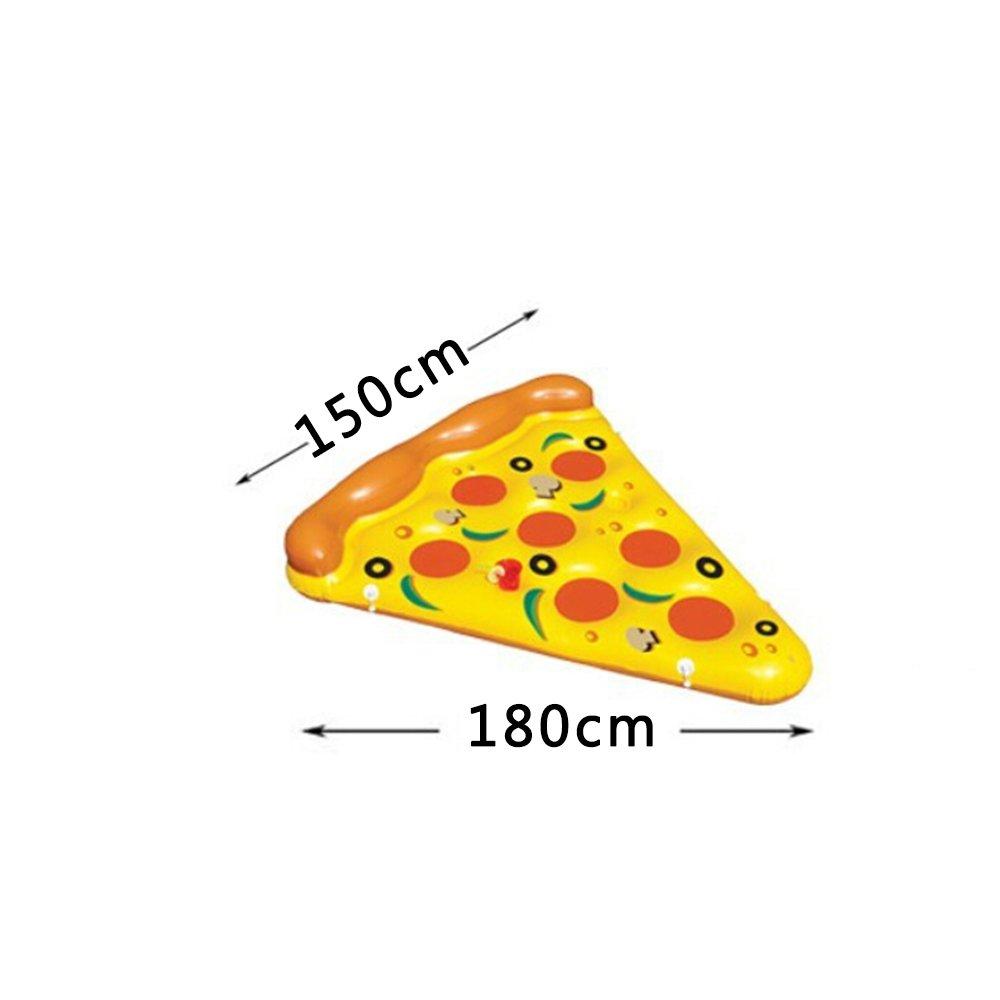 Gigante hinchable de pizza piscina flotador, mklot gran tamaño ...