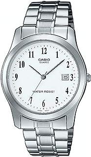 Casio Collection LTP-1141PA-7BEF, Reloj Redondo, Acero Inoxidable, Mujer, Plateado