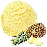 Sabor a la piña 1 Kg Helado en polvo Gino Gelati para el helado Polvo suave de hielo Polvo de hielo