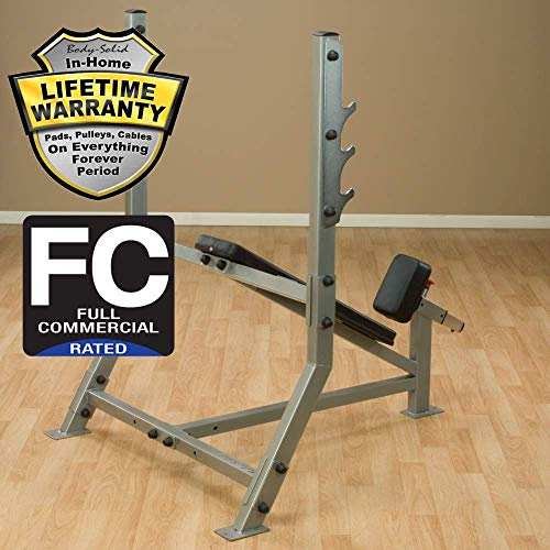 Body-Solid ProClubLine Incline Olympic Weight Bench (SIB359G)