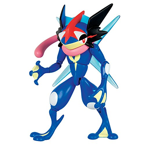 TOMY Pokémon–Figura de acción, Ash-Greninja