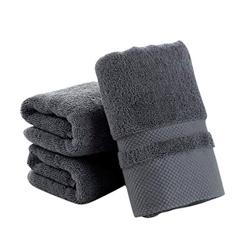 Xiaobing Toalla de algodón Puro Color Puro, pañuelo Suave, Toalla Gruesa, Toalla de baño, baño -MH-C34