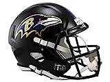 Riddell - Casco réplica de NFL, NFL, Color Morado, tamaño Medium