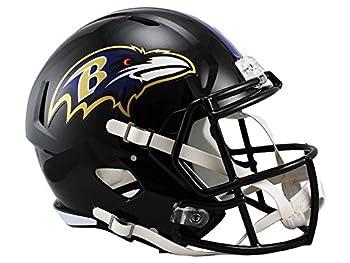Riddell NFL Baltimore Ravens Full Size Replica Speed Helmet