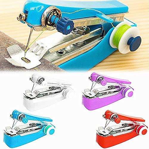 Wevigin Handheld Sewing Machine, Portable Needlework Cordless Mini...