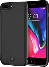 Battery Case for iPhone 6 Plus/6S Plus/7 Plus/8 Plus, 8500mAh Portable Charging Case Protective Rechargeable Charger Case Extended Battery Compatible with iPhone 6 Plus,6S Plus,7 Plus,8 Plus (5.5inch)