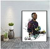 sechars Steve Mandanda Modern Art Print Startseite