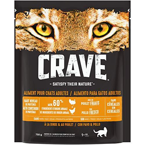 commercial petit croquette pour chat sans cereales puissant
