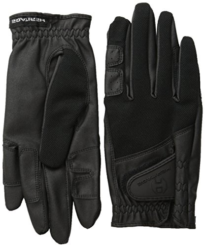 Heritage X-Country Gloves, Size 7, Black
