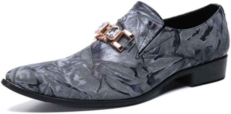 XWDQ Herren Business Schuhe Oxford New Herren Leder Flut Schuhe Herren Freizeitschuhe