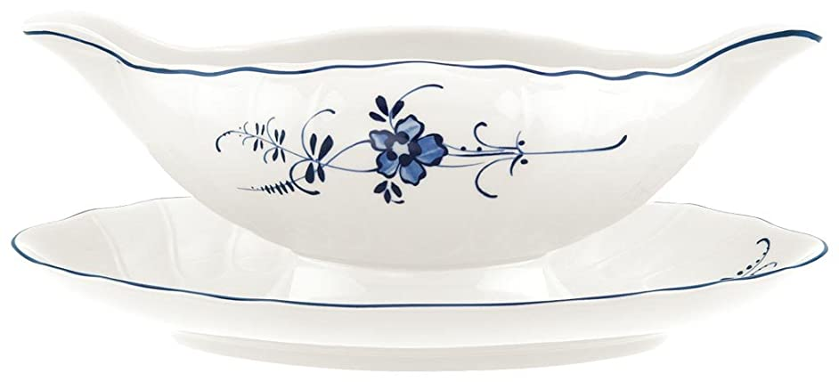 Villeroy & Boch Vieux Luxembourg Gravy Boat With Stand