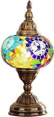 Lámpara Led De Mosaico Turco Hecha A Mano Lámpara De Mesa ...