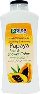 Bio Skincare Papaya Bath & Shower Creme 750 ml, Pack of 1