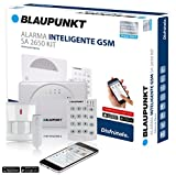 Blaupunkt SA2650 Sistema de Alarma para el hogar sin cuota mensual e inalámbrico.