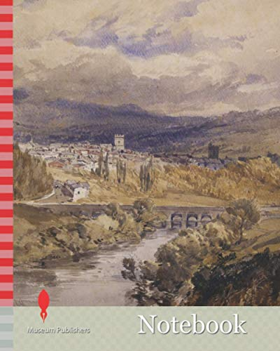 Notebook: Abergavenny, 1848 William Callow, Landscape, Watercolour, Wales