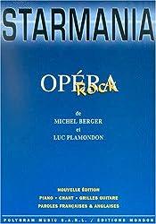 Berger/Plamondon Starmania Rock Opera Pvg Bk