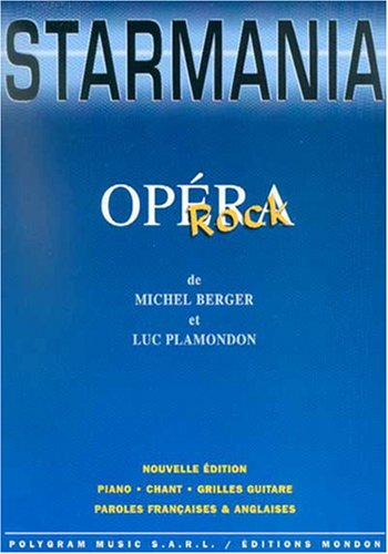 Berger/Plamondon Starmania Rock Opera Pvg Bk