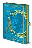 The Legend of Zelda Breath of the Wild - Taccuino A5, colore: Azzurro