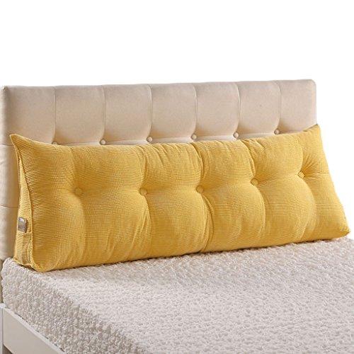 ASL Almohada de sofá de cama Almohada lumbar Funda suave Almohadilla de cintura Almohadilla de almohada Almohada de tela Almohada lavable de cintura Protege el cuello Nuevo ( Color : #2 , Tamaño : 200*22*50CM )