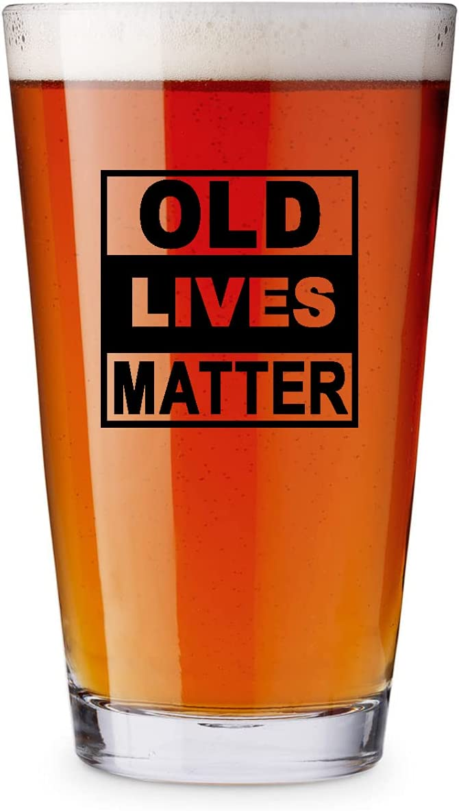 Old Challenge the lowest price Oklahoma City Mall Lives Matter Beer Glass Birthd Great oz Retirement Cup-16