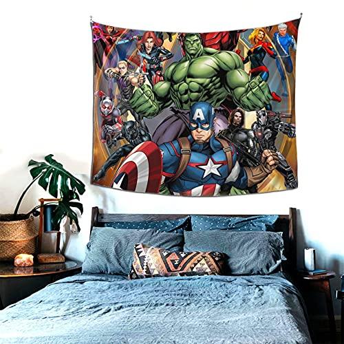 Aven-Ger - Tapiz de pared para colgar en la pared, colcha de pícnic, manta para dormitorio, sala de estar, yoga, meditación, 152 x 130 cm