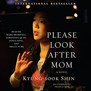 Please Look After Mom audiobook cover art