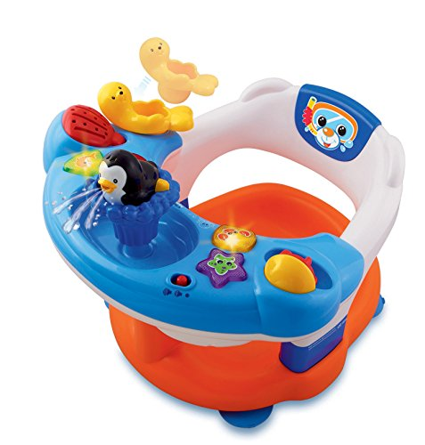 VTech - Aquasilla, silla de baño para jugar en la bañera (