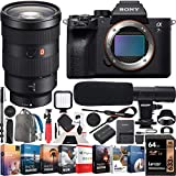 SONY AUTHORIZED DEALER - Includes Full SONY USA WARRANTY 61MP full-frame back-illuminated Exmor R sensor | Enhanced BIONZ X image processing engine w/ front end LSI and DRAM | Up to 10fps continuous shooting at 61MP with AE/AF tracking | 4K Movie wit...