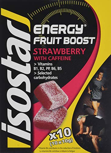 Isostar High Energy Fruit Boost Strawberry, 5er Pack (5 x 100 g)