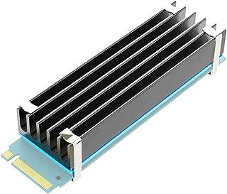 GLOTRENDS M.2 Heatsink NVMe Heatsink for 2280 M.2 SSD with Thermal Pads(22x70x10 Size)