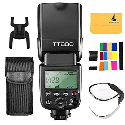 Godox TT600 2.4G Wireless Flash Speedlite Master Slave Flash con sistema di trigger incorporato per Canon Nikon Pentax Olympus Fujifilm Panasonic (TT600)