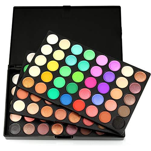 120 Farben Lidschatten Makeup Palette - Augenschatten Pulver Professional Make Up Kosmetik - Satte...