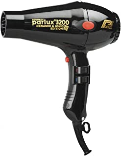 Parlux 3200 Ceramic & Ionic Dryer 1900W, Black