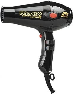 Parlux 3200 Ceramic & Ionic Dryer 1900W, Black