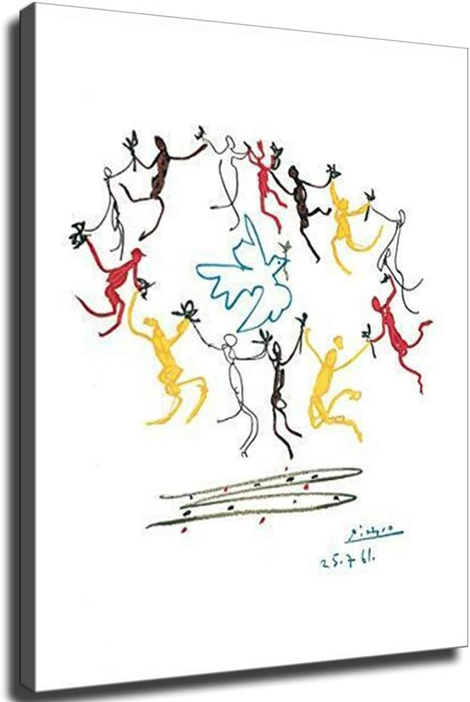 Dance of 直送商品 大人気 Youth by Picasso Poster Canvas Li for Print Painting on