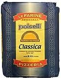 Polselli - Harina clásica italiana de trigo tierno, tipo '00', 5kg, especial para pizza napolitana
