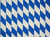 Zanderino ab 1m: Original Bayern Raute, Weiss-blau,