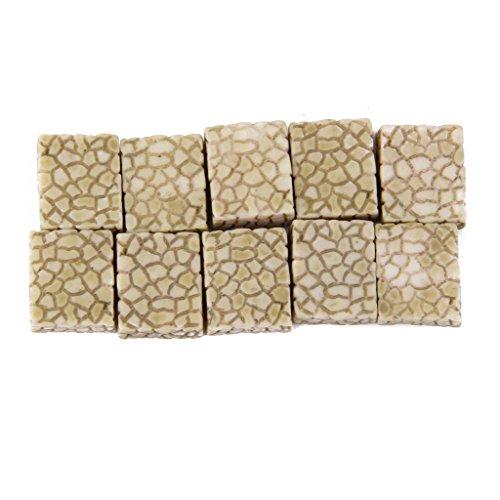 10pcs Petites Pierres en Résine pour Miniature de Mini Paysage Bonsai