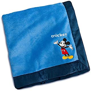 """OFFICIAL DISNEY Mickey Mouse Plush Blanket for Baby 30' X 40"""""""