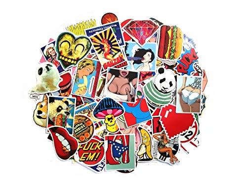 thematys Sticker Aufkleber Bumper in 10 verschiedenen Sets - perfekt zum Bekleben von Laptop, Smartphone, Monitore, Rucksäcke, Auto, Fahrrad (Style 2)