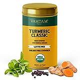 VAHDAM, Turmeric Classic Latte Mix, 40 Cups (3.53 oz)   Golden Milk Powder