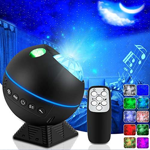 Sternenhimmel Projektor, LED Nachtlicht Lampe Projektor, Starry Projector Light mitFernbedienung / 360°Drehen / 5HelligkeitsstufenBesteGeschenke für weihnachtsdeko, Kinder Zimmer, Party Deko