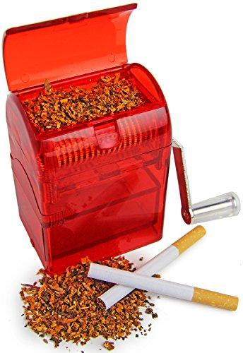 TABAKSCHREDDER für Tabakblätter Grinder Schredder Profi