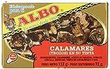 Albo - Calamares en su tinta, 112 g (Pack of 12)