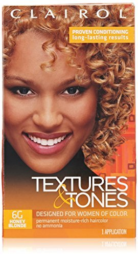 Clairol Professional Textures and Tones Permanent Hair Color, Honey Blonde by Clairol Professional